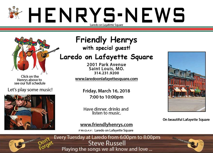 Friendly Henrys at Laredo