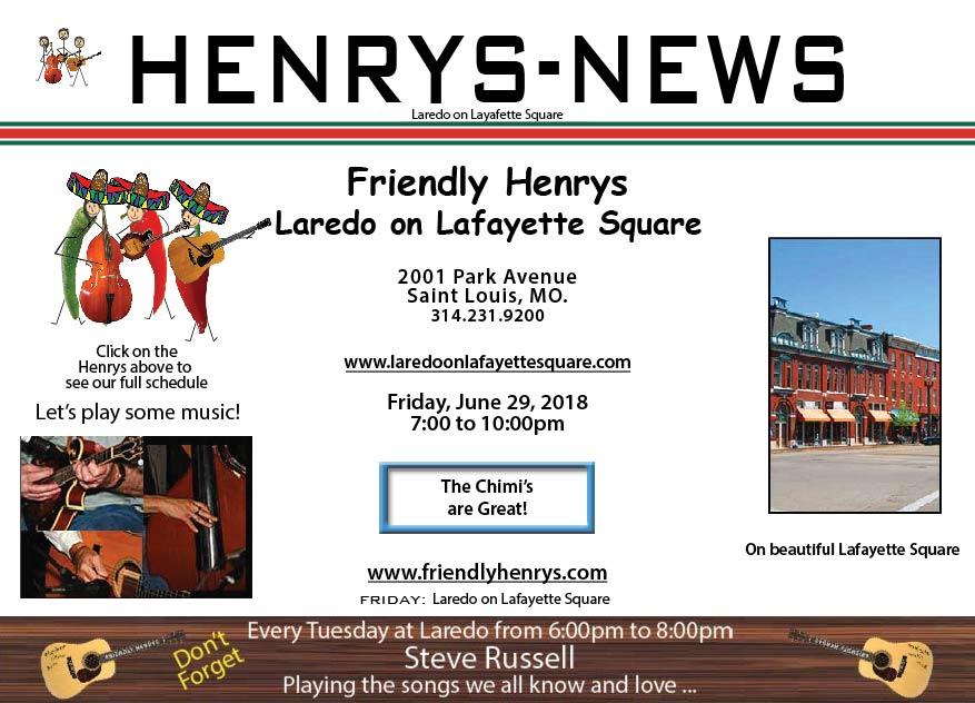 Friendly Henrys at Laredo